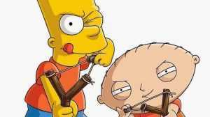 The Simpsons vs family guy evil stewie